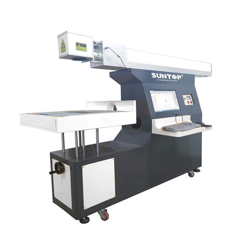3D dynamic focusing CO2 laser marking machine Featured Image