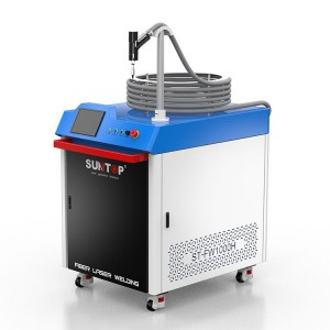 Manufacturer for Spot Laser Welding Machine - Hand held fiber laser welding machine – Suntop