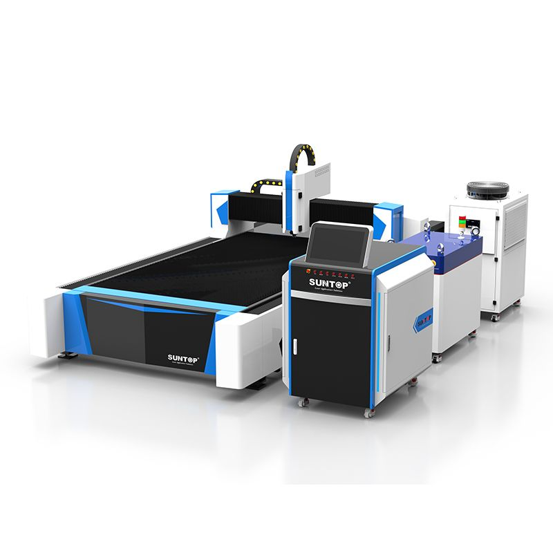 Single table fiber laser cutting machine (ST-FC3015)