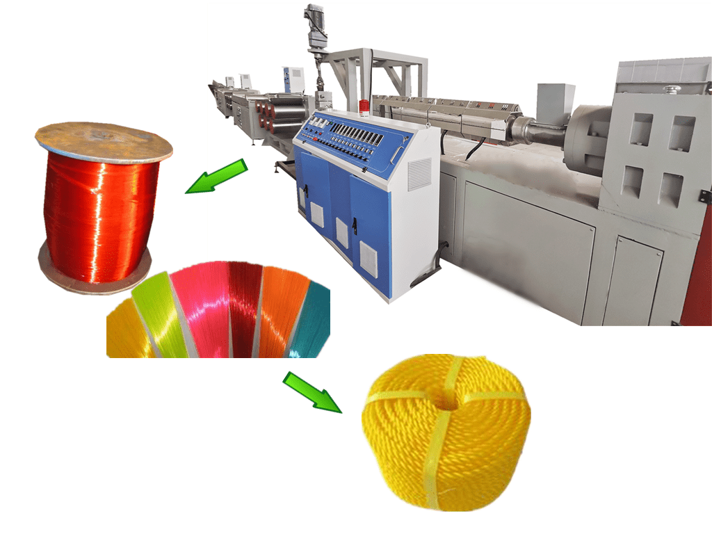 Nylon rope yarn extrusion machine line Featured Image
