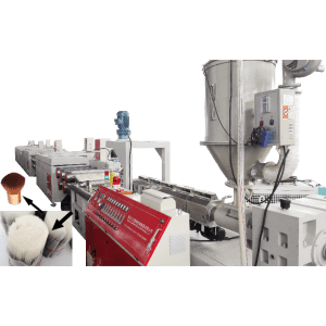 Wholesale Dealers of Pp Brush Monofilament Extruding Machine - Plastic cosmetic brush filament extruding machine – Zhuoya