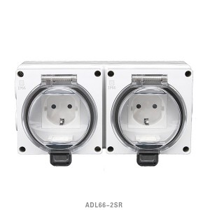 Wholesale Price Dust-Tight Switch - 16A Schuko Series 1Gang Polycarbonate Construction IP66 Surface Socket – Feilifu