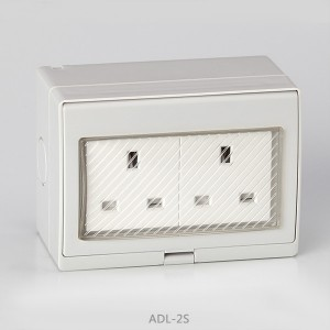 IP55 Series Waterproof Surface Switch +  BS Socket