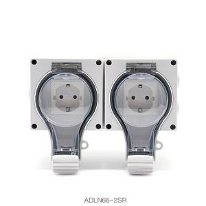 IP66 New Series Waterproof Socket 1 Gang Suhuko Socket