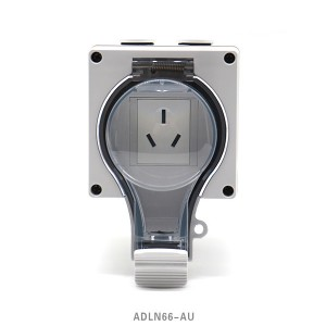 Cheapest Factory Ip66 Socket Outlet - IP66 New Series Waterproof Socket 2 Australis Socket – Feilifu