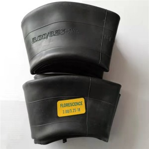 250/275-18 Natural rubber motorcycle tire inner tube