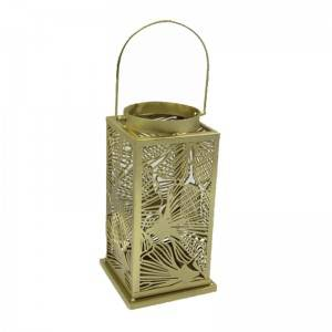 Antique Small Candle Metal Lantern
