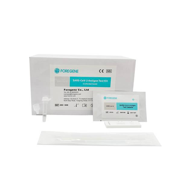 SARS-CoV-2 Antigen Test Kit(Colloidal Gold)