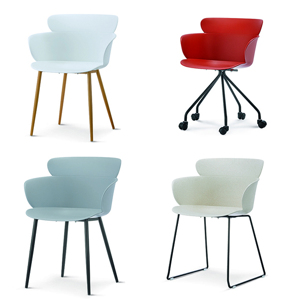 Cheap PriceList for Metal Chair Legs - PLASTIC CHAIR –  1693# – Forman detail pictures