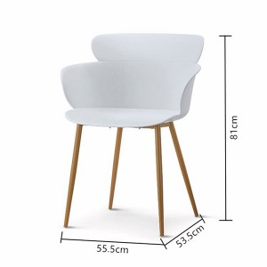 OEM Factory for Dining Room Chairs Modern - PLASTIC CHAIR –  1693# – Forman