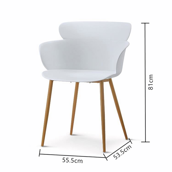 Cheap PriceList for Metal Chair Legs - PLASTIC CHAIR –  1693# – Forman
