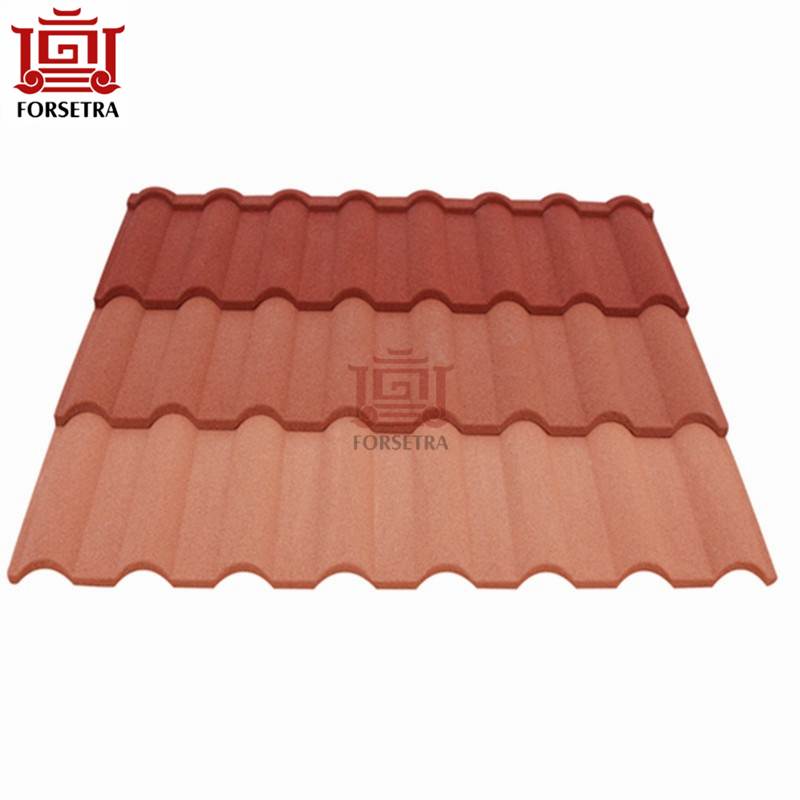 Hangzhou tata Steel Roof Sheet Price 0.4mm Color Stone Coated Roof Tile Per Sheet Price Featured Image