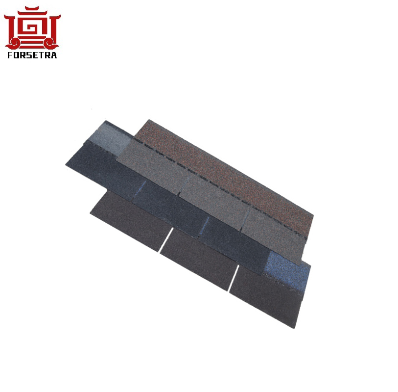 China Manufacturer Roofing Material Wholesale Price Colorful Fiberglass Asphalt Roofing Shingles for Cambodia