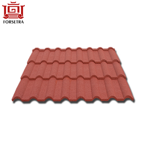 Building Material Zinc Step Hangzhou Roofing Tile Aluminum Galvanized Colorful Stone Coated Bend Metal Roofing Tile