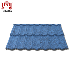 Low Price European Style Stone Coated Cheap Flat Roof Tile Price