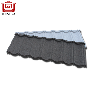 Heat UV Resistant Colorful Aluminum Stoned Coated Metal Roofing Tiles