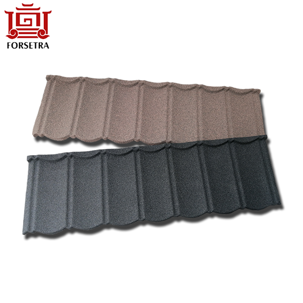 Galvalume Material Red Stone Chip Coated Steel Roofing Sheet Featured Image