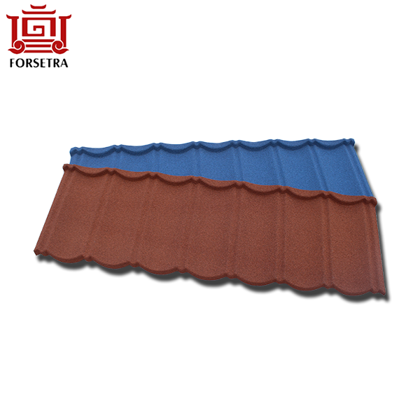 Long Lifetime Anti-fade Stone Coated Roof Tile Factory With Best Price Featured Image