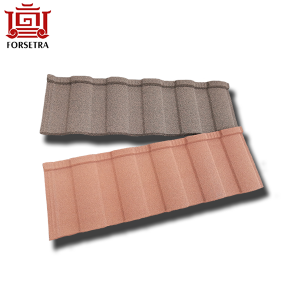 Hangzhou Durable Roman Chinese Stone Coated Sheet Ceramic Interlocking Roof Tiles in Brunei