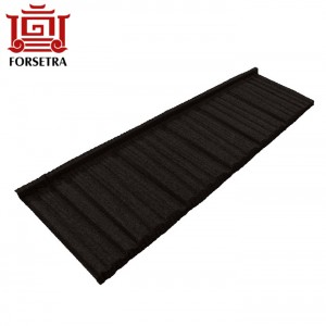 Easy to Install French Roof Tile Fast Installation Building Material, Stone Coated Steel Roofing Sheet