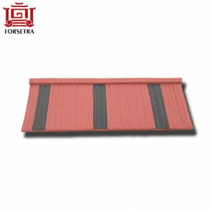Hangzhou Factory Sale 0.4mm Stone Chips Coated Steel Roof Sheet Per Sheet Price