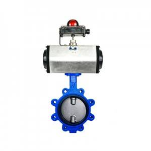 FO1-BV1LT-1P(Lugged type Butterfly Valve–Pneumatic Actuator)