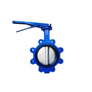 FO1-BV1LT-3L(Lugged type Butterfly Valve–Handle Operation)