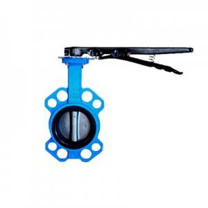 FN1-BV1W-3L (Wafer Butterfly Valve–Handle Operation)