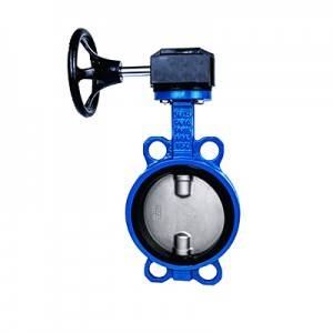 FN1-BV1W-1G (Wafer Butterfly Valve–Gear box Operation)
