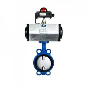 FN1-BV1W-1P (Wafer Butterfly Valve–Pneumatic Actuator)