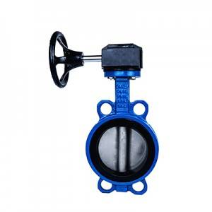 FN1-BV1W-3G (Wafer Butterfly Valve–Gear box Operation)