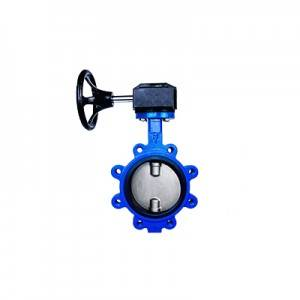 FO1-BV1LT-1G(Lugged type Butterfly Valve–Gear box Operation)