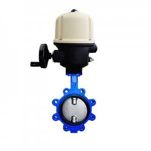 FO1-BV1LT-1E(Lugged type Butterfly Valve–Electric actuator)