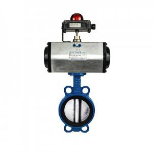 FN1-BV1W-3P (Wafer Butterfly Valve–Pneumatic Actuator)