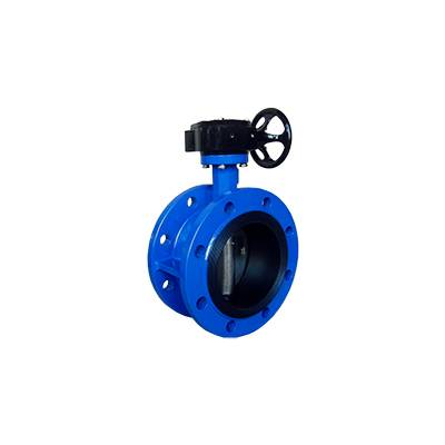 FD01-BV1DF-3G(Double flanged Butterfly Valve–Gear box Operation)