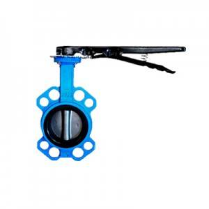 FN1-BV1W-2L (Wafer Butterfly Valve–Handle Operation)