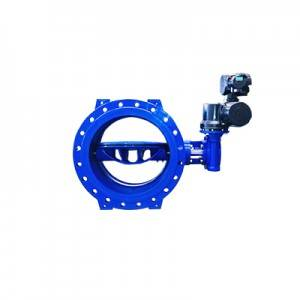 FDO2-BV2DEF-3E(Double Eccentric butterfly valves–Electric actuator)