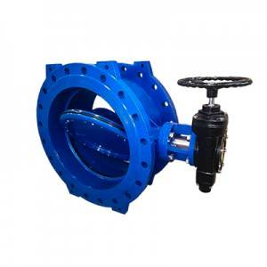 FDO2-BV2DEF-3G(Double Eccentric butterfly valves–Gear box Operation)