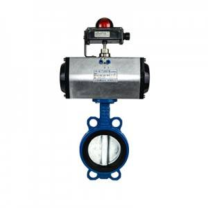FN1-BV1W-2P (Wafer Butterfly Valve–Pneumatic Actuator)