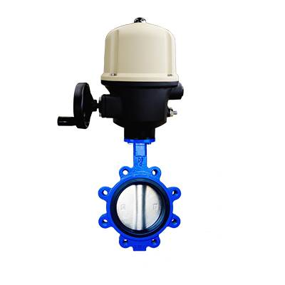 FO1-BV1LT-2E(Lugged type Butterfly Valve–Electric actuator)