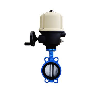 FN1-BV1W-2E (Wafer Butterfly Valve–Electric actuator)