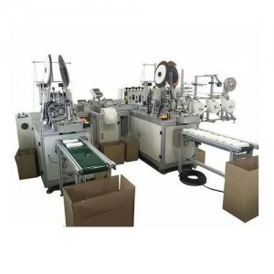 Three Layers Surgical Medical Face Mask Production Machine