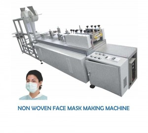 High Speed Fully Automatic N95 Mask Making Machine
