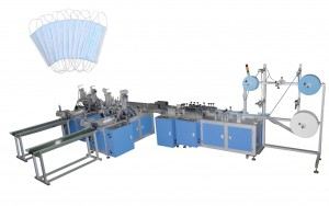 N95 Earloop Face Mask Manufacturing Machine