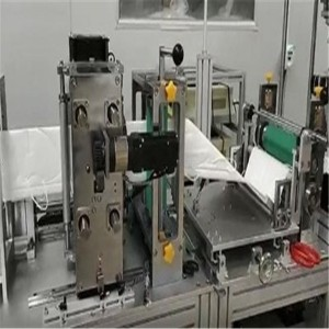 PLC 100pcs/M 4 Layer Disposable Surgical Face Mask Making Machine