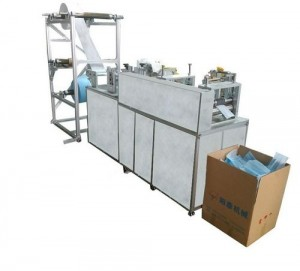 Flat 3 Layer PLC Face Mask Manufacturing Machine
