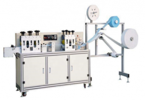 10KW 30-40PCS / Min Automatic Face Mask Making Machine