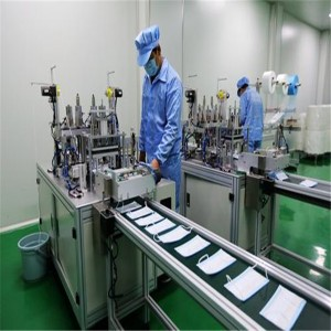 Medical Ultrasonic 80GSM Automatic Face Mask Making Machine