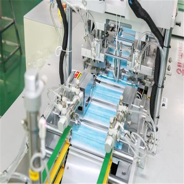 1550KG 1 Phase 50-55 Pcs / Min Mask Manufacturing Machine Featured Image
