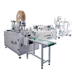 Hot sale Factory 2d Mask Blank Machine - Aluminum Alloy 140000 Pieces Surgical Face Mask Making Machine – Frand